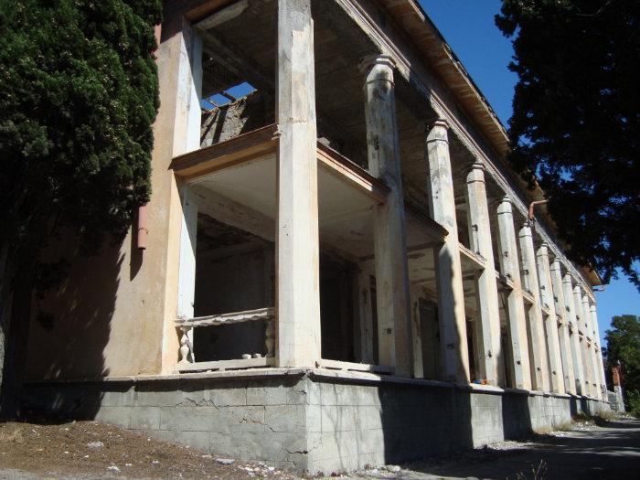 Санаторий МВД в Алупке