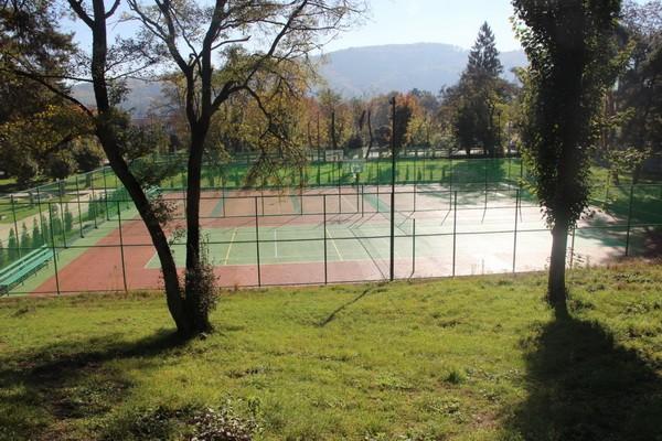 Теннисный корт в санатории Кирова ФСИН России в Нальчике