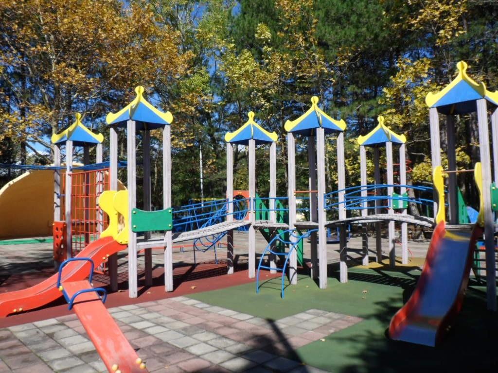 Детская площадка санатория Солнечный