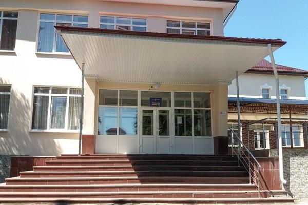 Главный вход в санаторий им. Кирова ФСИН России в Нальчике